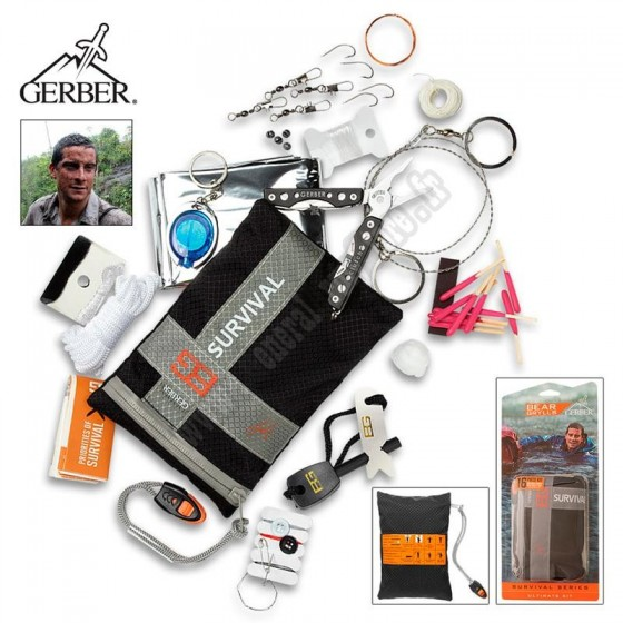 Kit de survie Ultimate Gerber