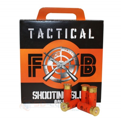 100 cartouches Tactical FOB Shooting Slug 12/67