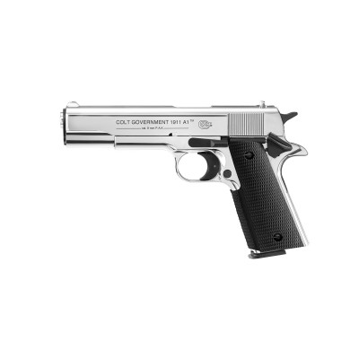 Pistolet Colt Government 1911 9mm PAK Silver...
