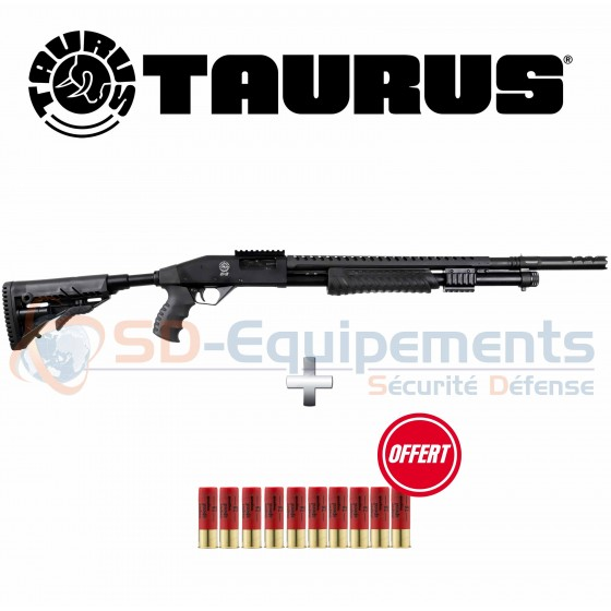 Pack Fusil à pompe Taurus ST12 - Tactical Edition Cal.12