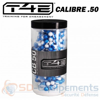 Lot de 500 billes T4E calibre .50 Marquage...
