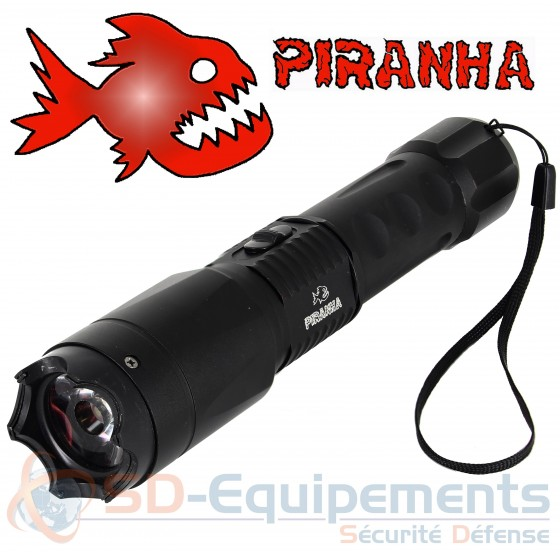Lampe shocker Piranha FlashTac 3 800 000 volts