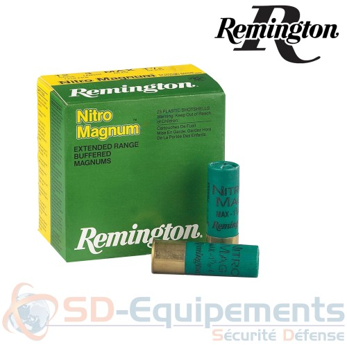 Cartouches Remington Nitro Magnum 12/76