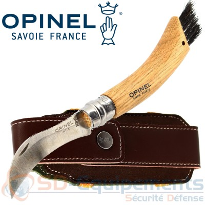 Opinel n°08 Champignons + Plumier