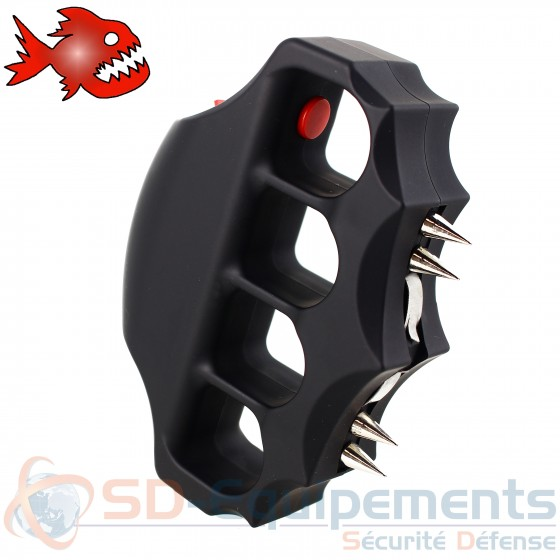 Poing Américain shocker Piranha Knuckler 2