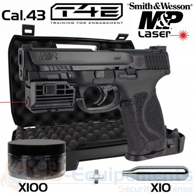 Umarex Smith & Wesson MP9 Laser cal.43...