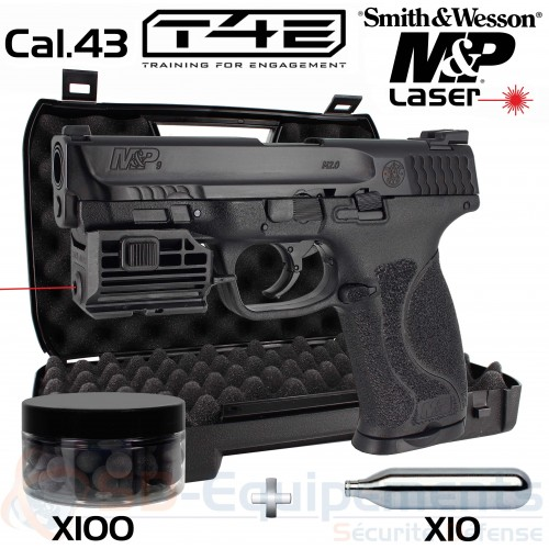 Umarex Smith & Wesson MP9 Laser cal.43 (5 Joules)