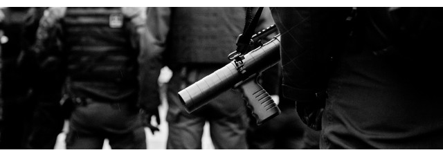 Pistolet Flash ball